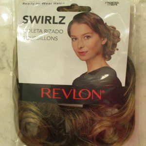 REVLON SWIRLZ HAIRPIECE Hair Extension Frosted